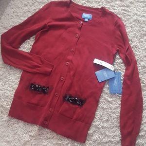 Simply Vera Button Down Cardigan XS